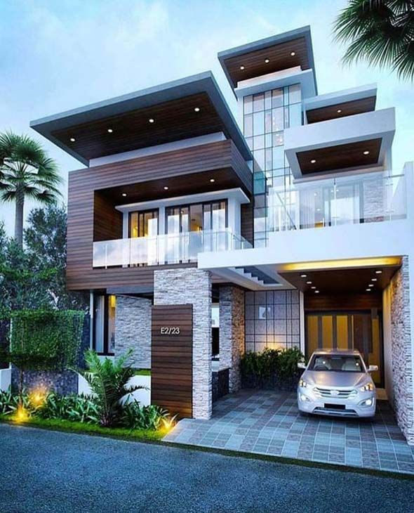 Best Moadern Dream House Exterior Designs You Will Amazed .
