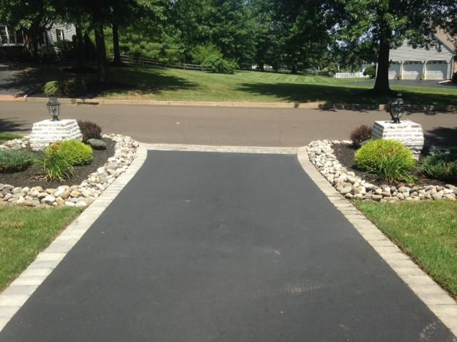 driveway ideas half circle asphalt driveways with fieldstone .
