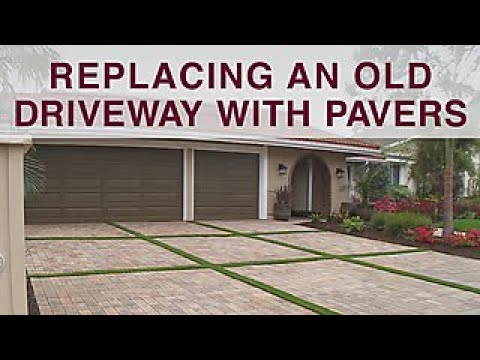 Replacing Driveway with Pavers - DIY Network - YouTu