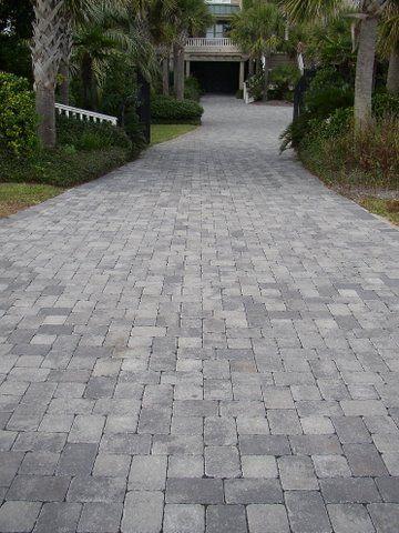 Pin by PaverScape on Driveways | Paver driveway, Cobblestone patio .