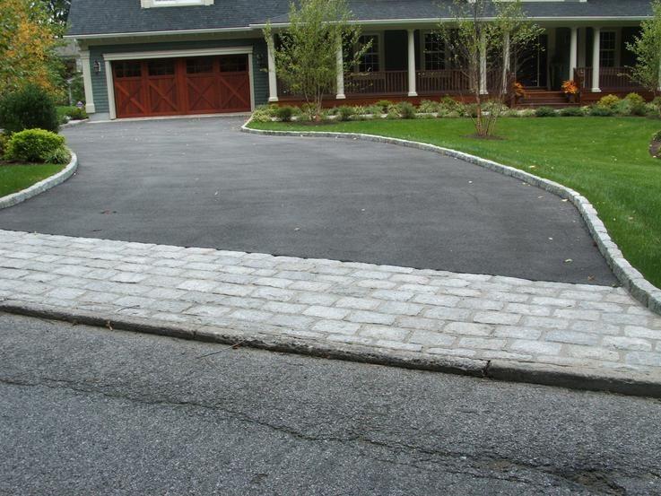 Krc Rock Paver Driveway Apron | Driveway design, Driveway, Paver .