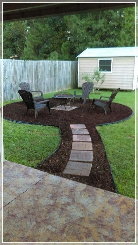 Simple, easy and cheap DIY garden landscaping ideas for front .