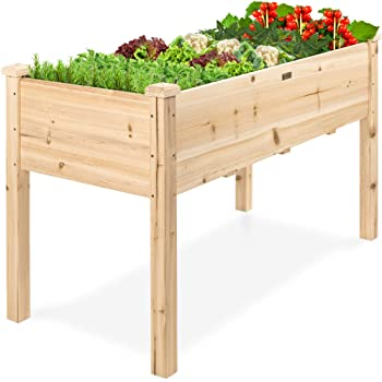 Amazon.com: Best Choice Products Raised Garden Bed 48x24x30in .