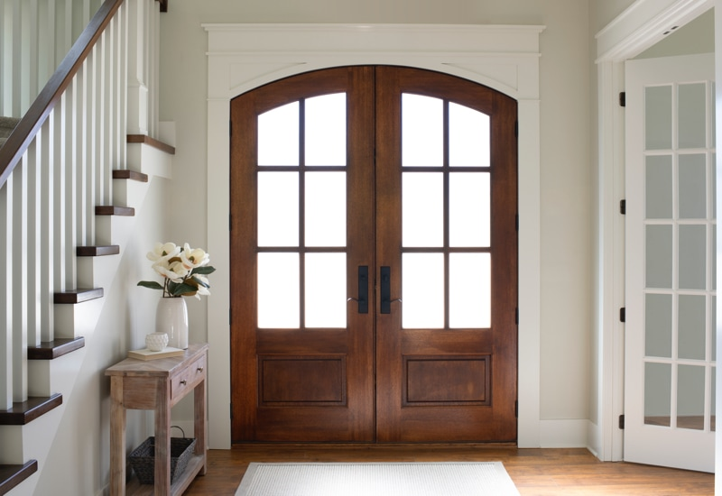Should I Install a Wood Entry Door? | Pella Bran