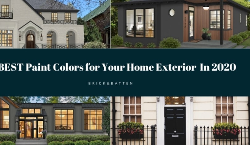16 Best Paint Colors for Your Home's Exterior in 2020 | Blog .