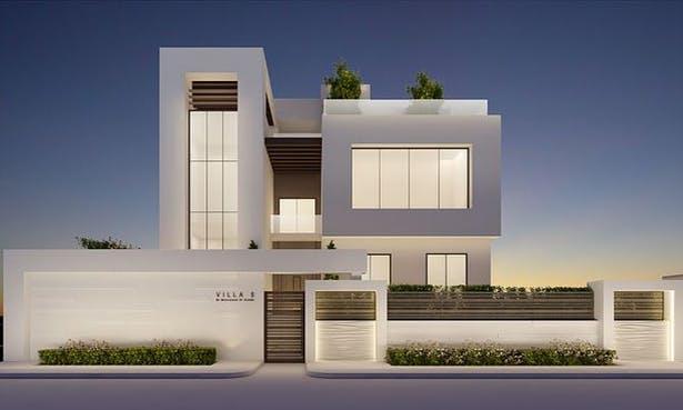 Elegant Modern Exterior Design Ideas | IONS DESIGN | Archine