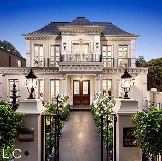 luxuriousclub | Facade house, House designs exterior, House exteri