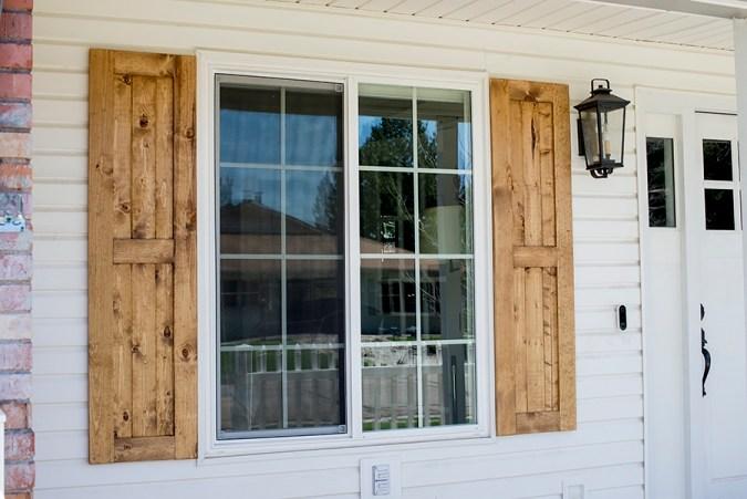 DIY Exterior Shutters • Le Bois Ho