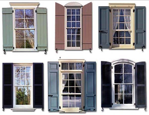 Types of Exterior Shutters - CreativeLittleBedroom.com | House .