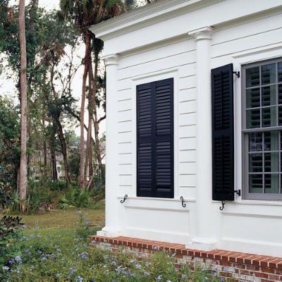 Stylish Window Shutters | Shutters exterior, Fake window, Window .