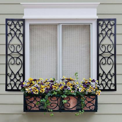 Custom Designer Shutters, Exterior Window Shutters | Hooks and .