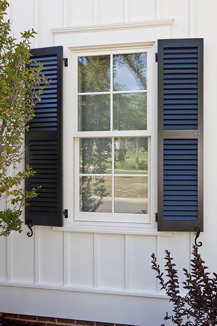 Farmhouse Revival - | Southern Living House Plans | Window trim .