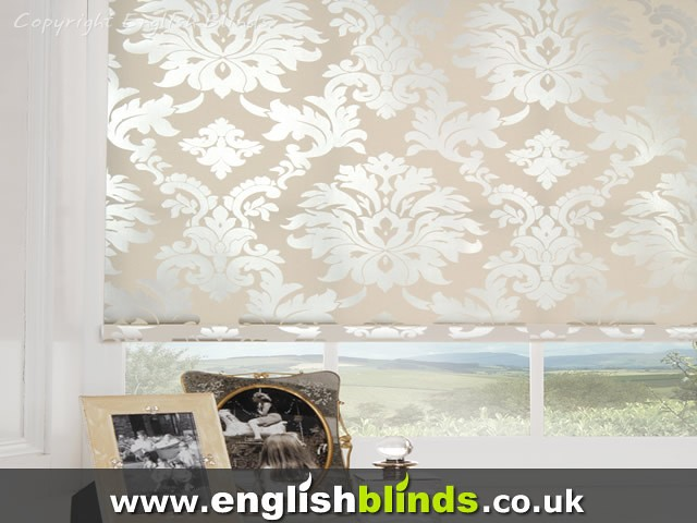Stylish retro patterned fabric blinds | Beautiful collection… | Flic