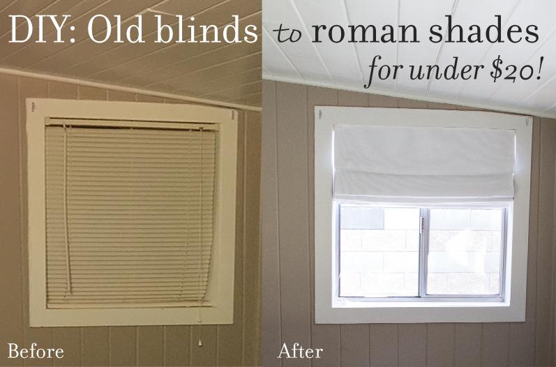 DIY Fabric Roman Shad