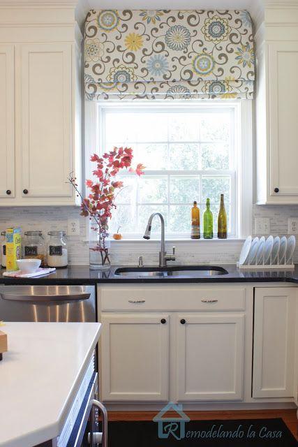 Remodelando la Casa: Give your Roman Shades a New Look | Kitchen .