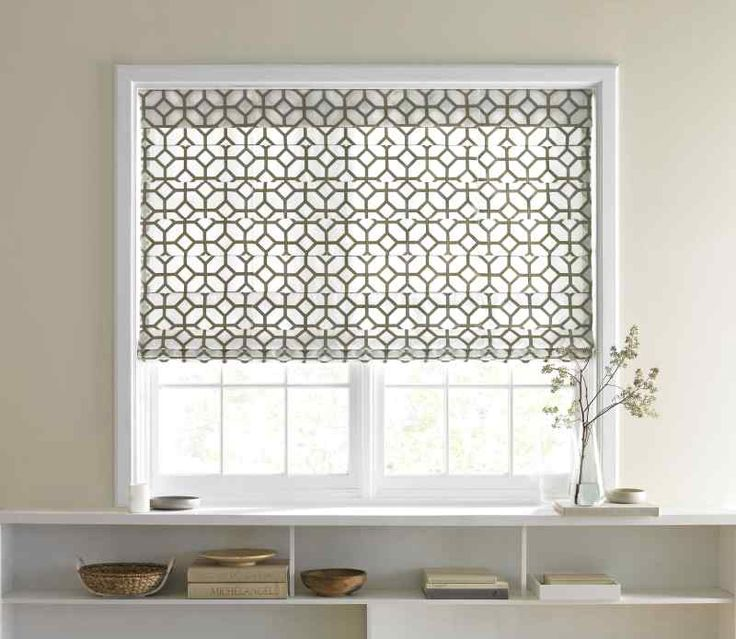 Fabric Roman Shades — National Window Coverin