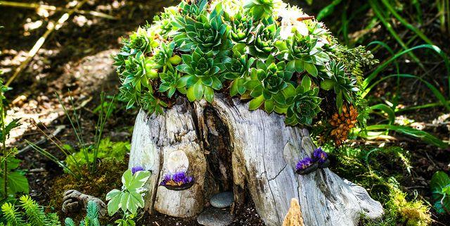 25 DIY Fairy Garden Ideas - How to Make a Miniature Fairy Gard