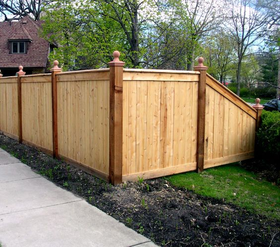wood traditional pix template | Privacy fence landscaping, Wood .