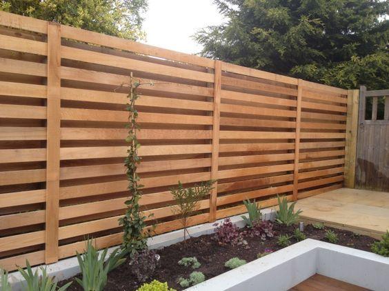 modern trellis design | Trellis fence, Privacy fence designs .