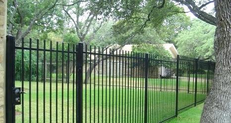 Beautiful Wrought Iron Fence Desig