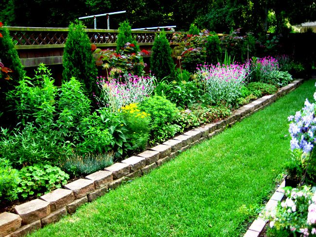 Beautiful Flower bed Ideas flower bed ideas long narrow flower bed .