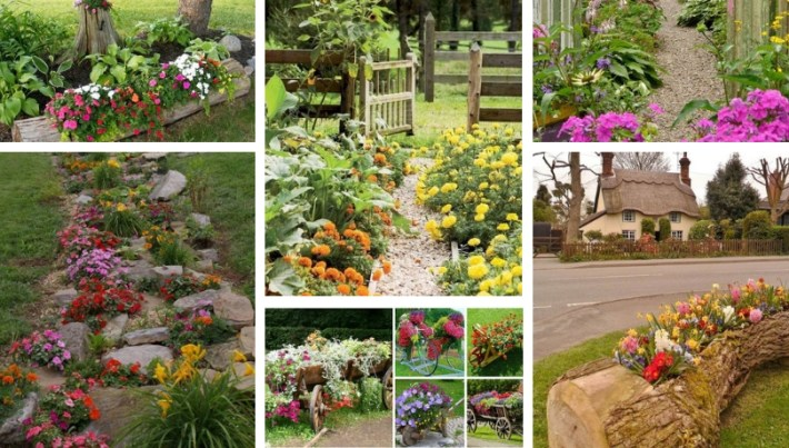 Beautiful corners of the country - 40 amazing flowers pots and .