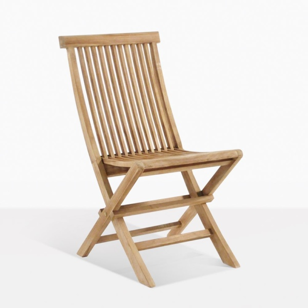 Prego Teak Folding Dining Chair| Outdoor Patio Restaurant | Teak .