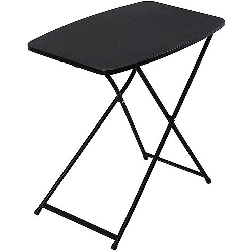 "Mainstays 26"" Personal Black Folding Tables, 4 Count - Walmart.com ."