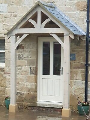 "REDWOOD PORCH FRONT DOOR CANOPY HANDMADE IN SHROPSHIRE ""Grosvenor ."