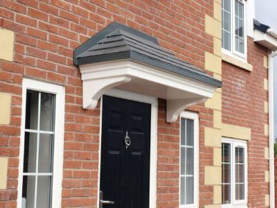 The Benefits Of Owning A Door Canopy | Canopies UK Home & Garde