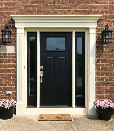 Black Entry Doors | Pel
