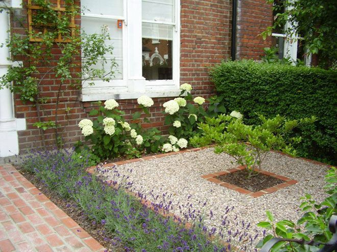 45 BEST MODERN FRONT YARD LANDSCAPING IDEAS | Gravel front garden .