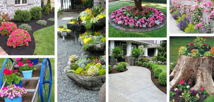 50 Best Front Yard Landscaping Ideas and Garden Designs for 20