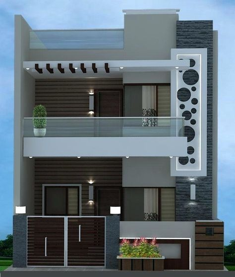 House Front Single Gate Grill Design Images | Minimalist house .