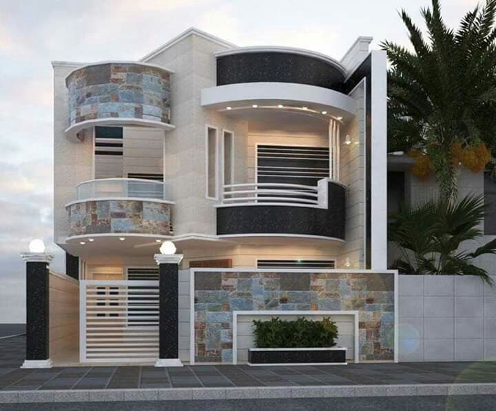 Pin by Dawar Qazi on house | Modern house facades, Facade house .