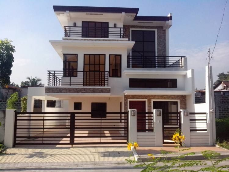 Front House Design Philippines | Philippines house design, Modern .