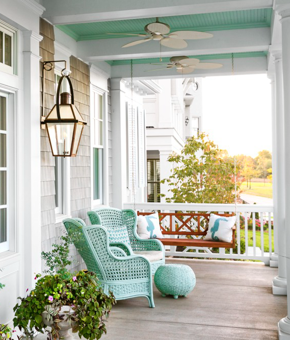 82 Best Front Porch Ideas - Ideas for Front Porch and Patio Decorati