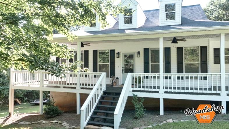 Southern Front Porch Restoration - Woodshop Mi