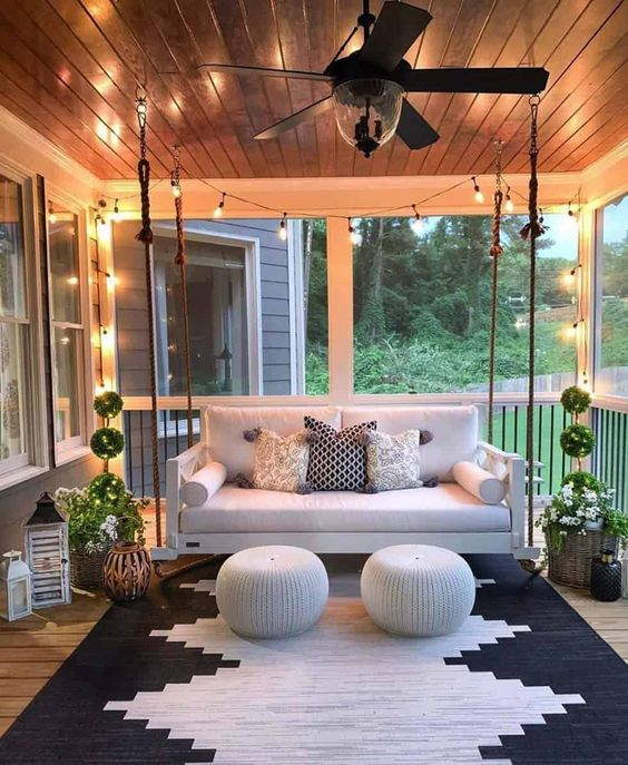 55+ Best Designs Front Porch Ideas Make Your Houses More Cozy [NEW