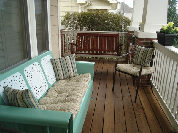 Create New Old-Fashioned Porch | Porch furniture, Sectional patio .
