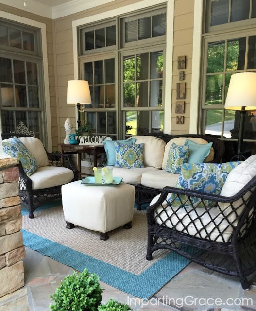 325th Inspire Me Tuesday - A Stroll Thru Life | Porch furniture .