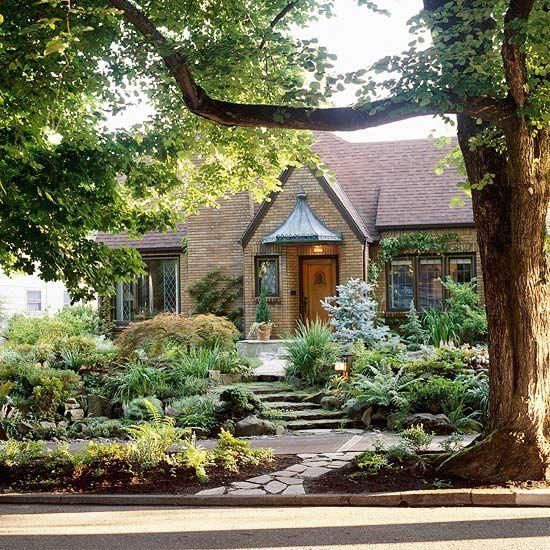 Front Yard Landscapes | Yard landscaping, Front yard landscaping .