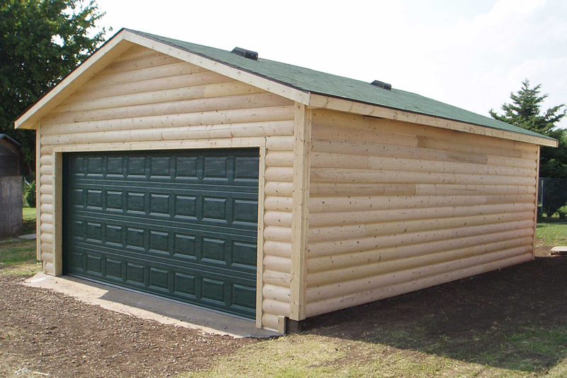 Log-sided-Garage-sheds-for-sale-in-derby-ks - Kansas Outdoor .