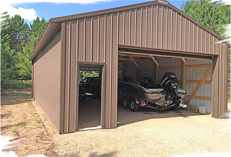 Metal & Toy Sheds | Northland Buildings | Metal Garag