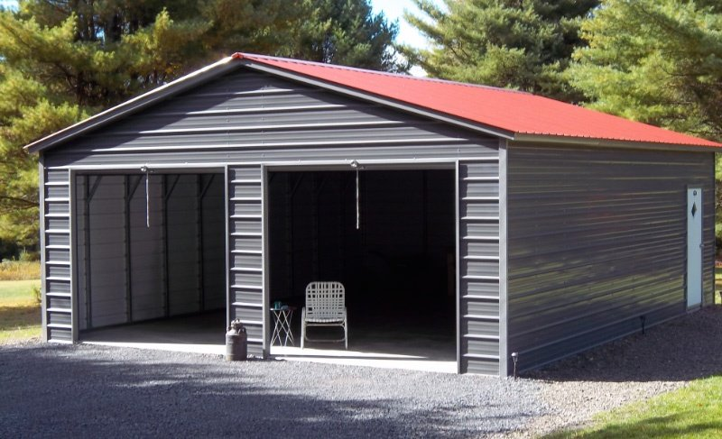 Metal Garages for Sale | Free Installation of Steel Garage Buildin