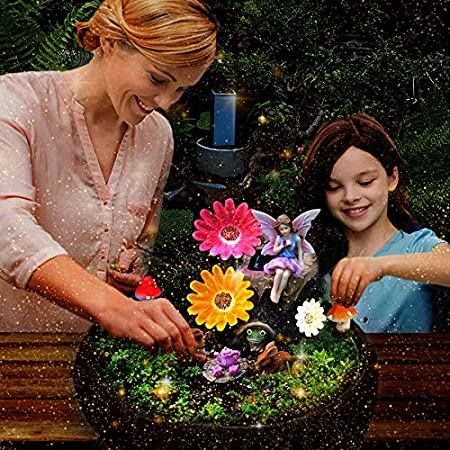 Amazon.com : HDNICEZM Fairy Garden Accessories Kit - Miniature .