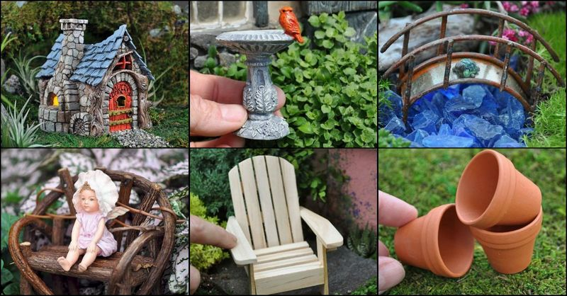 Fairy Garden Accessories | The Owner-Builder Netwo