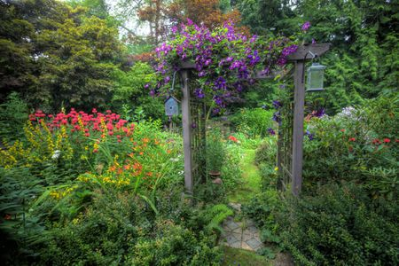 What is a Garden Arbor Used Fo