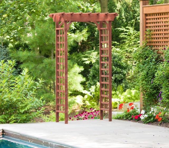 Arbor - Craftsman - Garden Arbors - by Leisure Season Lt