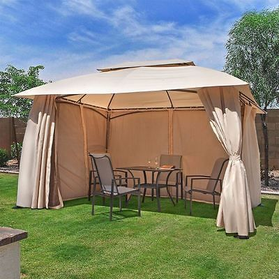 Details about Outdoor home 10' x 13' Backyard garden awnings Patio .